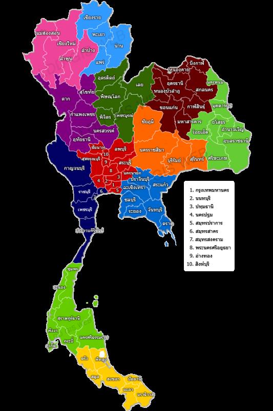 Map_TH_provinces_AZ